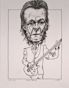 Jack Bruce Late Bass Player for Cream