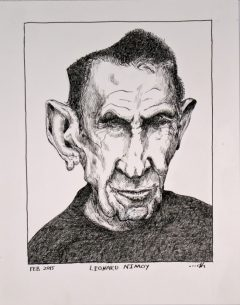 Leonard Nimoy the Late Actor