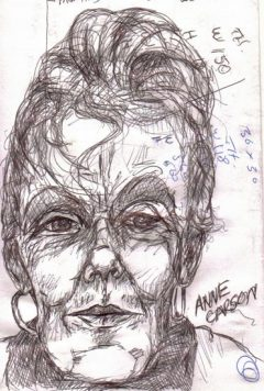Anne Carson Poet